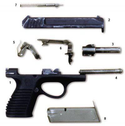 Пистолеты П-96 и ГШ-18