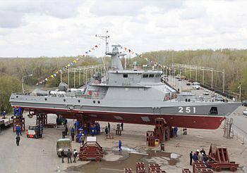 Ural fabrikası Zenit, Kazakistan Donanması için ikinci füze ve topçu gemisini başlattı