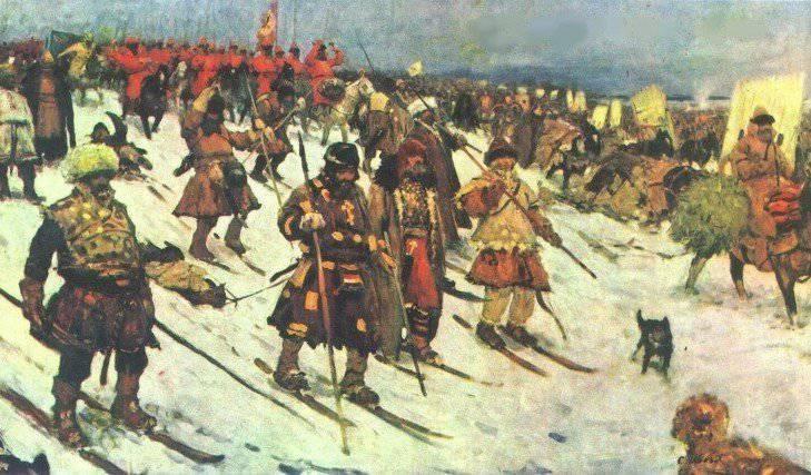 La antigüedad (educación) y la formación de las tropas de Don Cossack en el servicio de Moscú