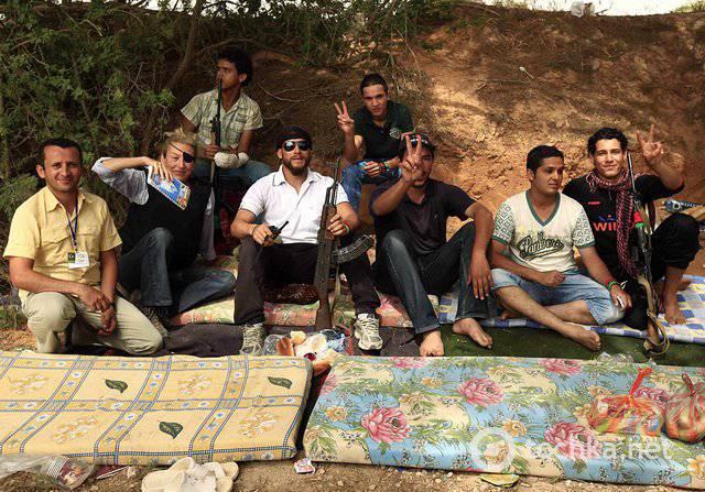 Sur l'activation des forces anti-syriennes
