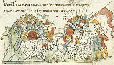 व्लादिमीर मोनोमख और कीव वर्ष के 1113 विद्रोह