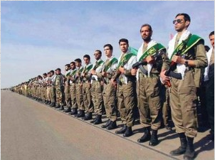 Iran is recruiting volunteers for the war in Syria