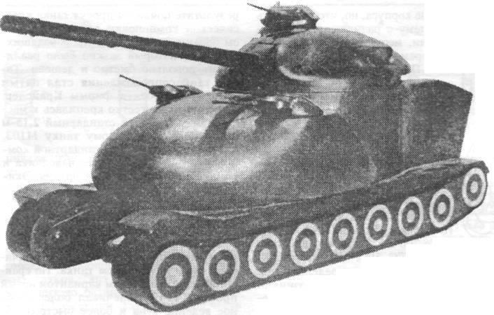 Американские проекты атомных танков