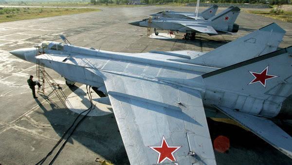 Минобороны РФ получило еще 15 МиГ-31