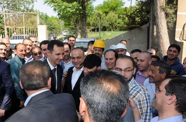 시리아 : 침략자의 얼굴에 연합