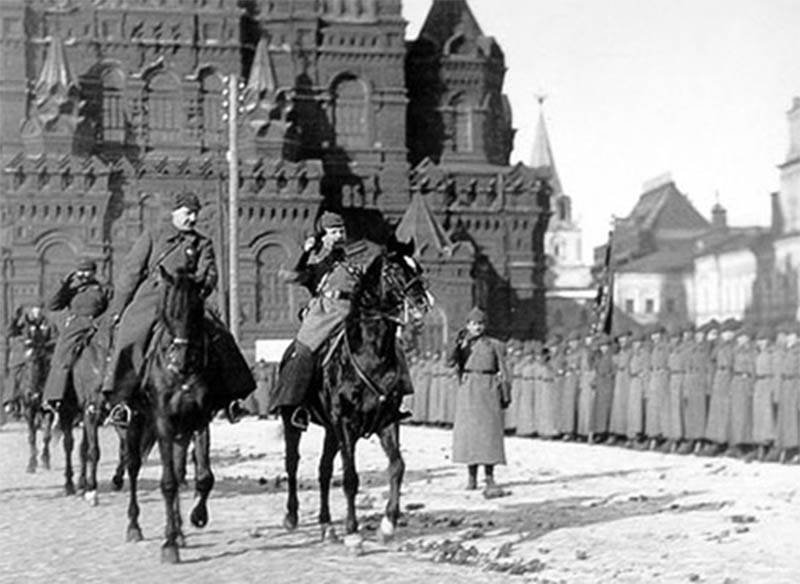The history of military parades on Red Square