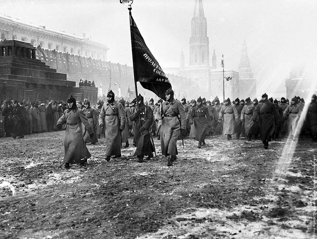 a history of the october revolution