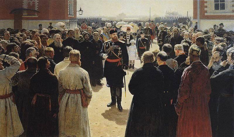 11 5月1881独裁力の強化に関するアレキサンダー3世の宣言が発表された。