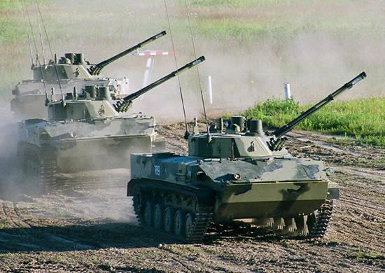 La tâche principale du Commandement des forces aéroportées est le réarmement polyvalent des troupes dans les meilleurs délais.