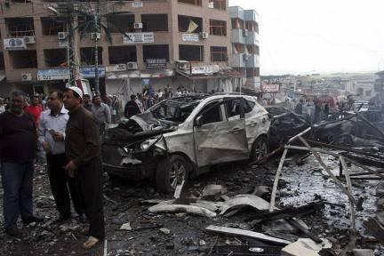 तुर्की में आतंकवादी हमले: रेहान्लिस में तीन विस्फोट हुए