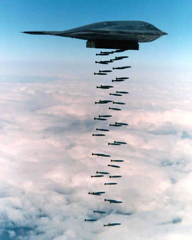 स्पिरिट स्टील्थ बॉम्बर B-2: UFO बनाम एयर डिफेंस