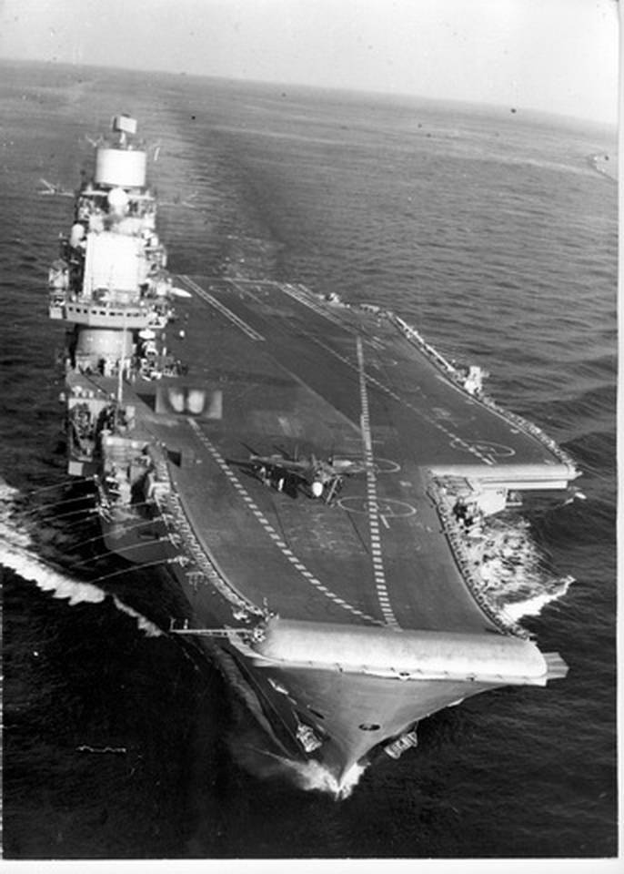 Admiral Gorshkov aircraft carriers