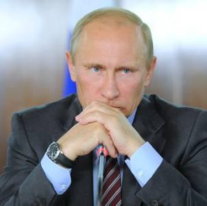 """푸틴의 통제에서 """"힘 수직"""""""