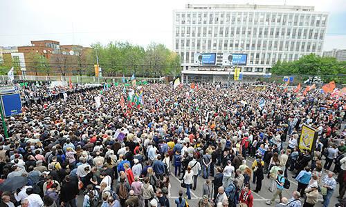 """Yury Krupnov: """"Rusya'nın yedi devrime ihtiyacı var"""""""