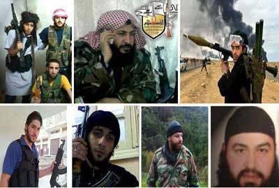 """सीरिया के """"विपक्षी"""" और """"विद्रोही"""" कहाँ से आए थे"""