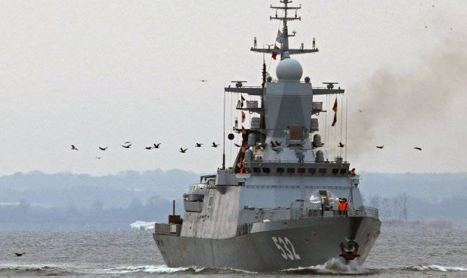 """Corvette """"Boyky"""" transferred to the Russian Navy"""