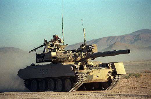 "In the United States launched the production of ""T-72"", ""T-80"" and ""BMP-2"""