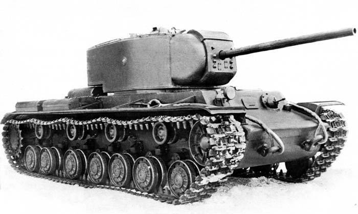 Prototypes in combat. Heavy tank KV-220