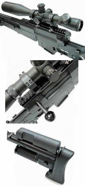Rifle de franco-atirador francês Mini-Hecate