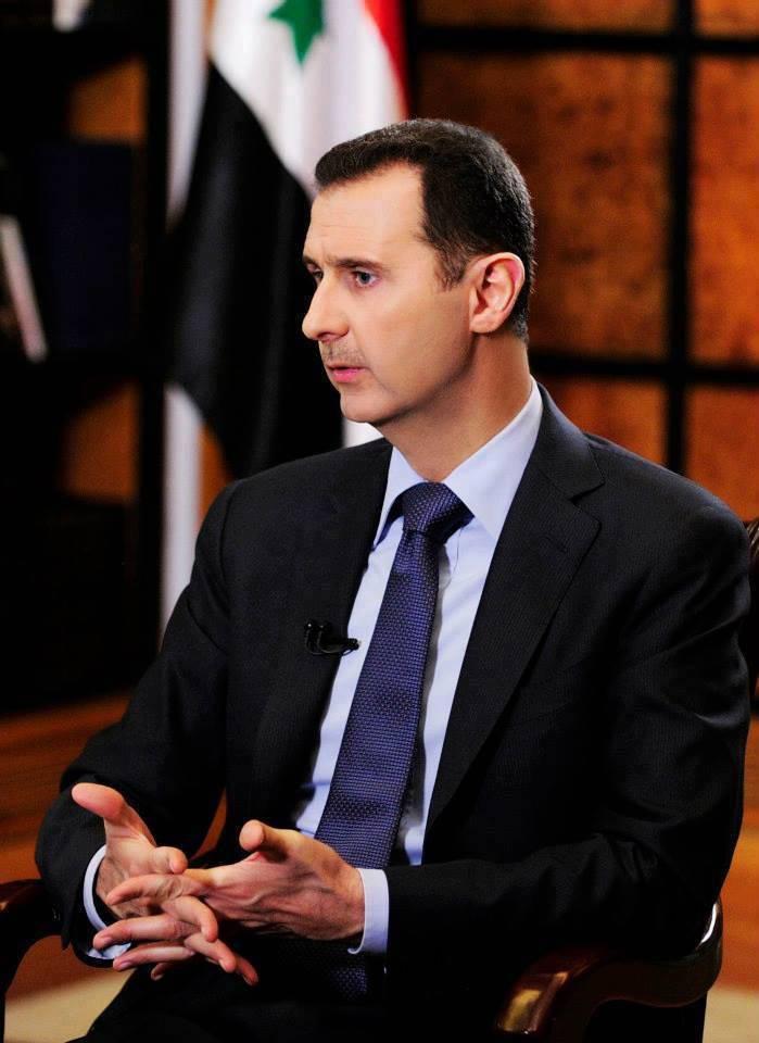 Bashar al-Assad: Captain does not run from the ship
