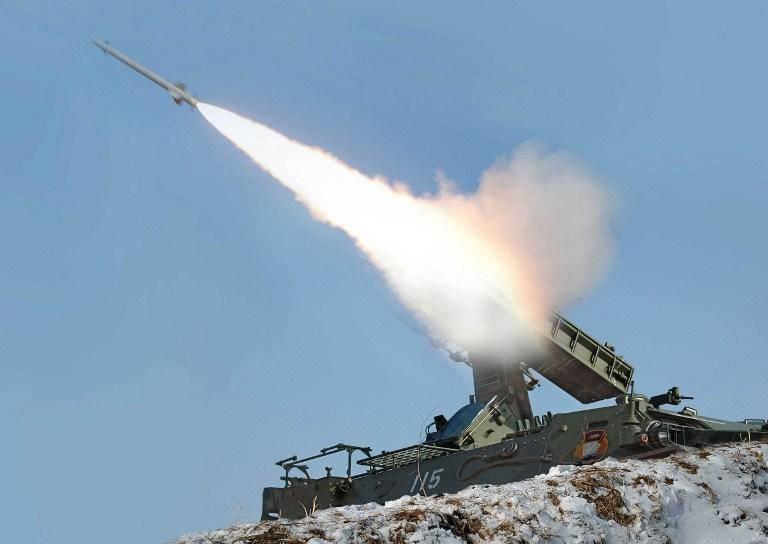 朝鲜发射了另一枚短程导弹
