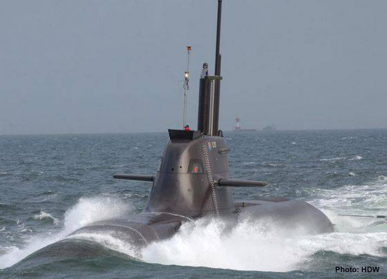 In Kiel, the ceremony of the baptism of the sixth class of the Type-212A class NNPS took place