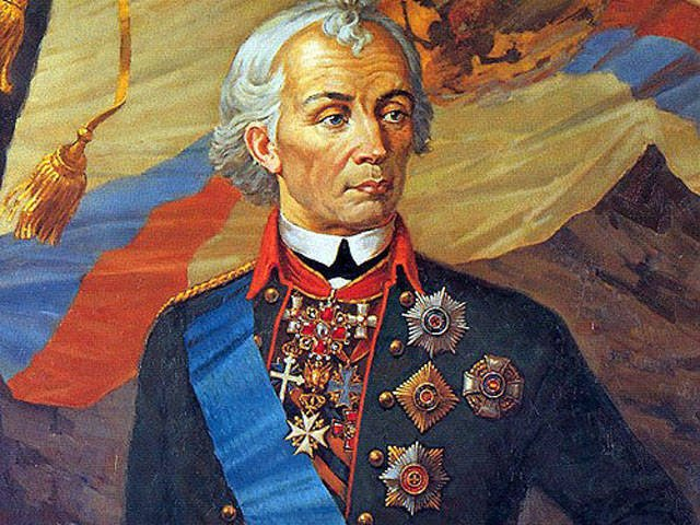 Not the death of Suvorov struck ...