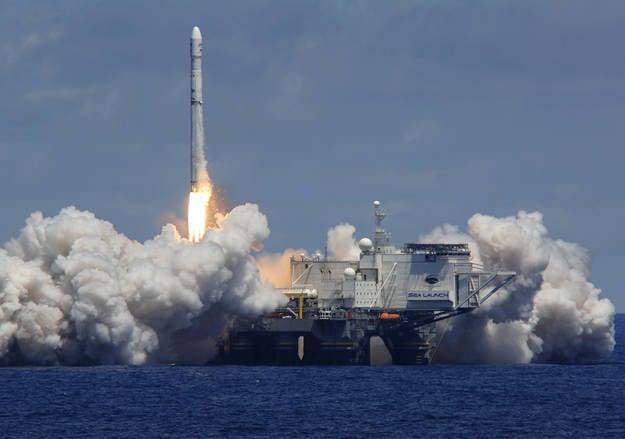 """Wege """"Sea Launch"""""""