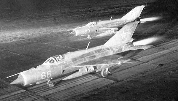Pilotos soviéticos contra a Força Aérea Israelense. Ganhar com um placar seco?