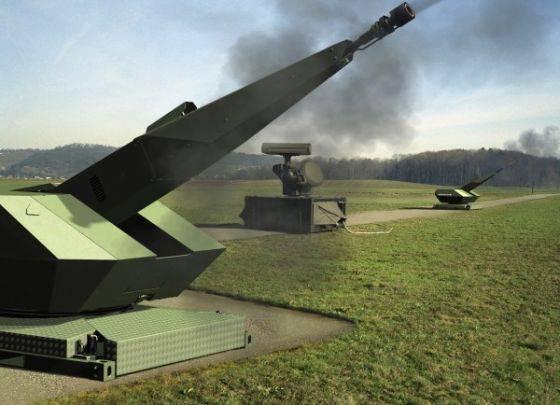"""Rhinemetal"" demonstrou uma nova arma antiaérea"