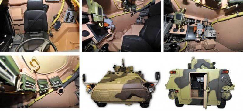 Der neue in der Ukraine hergestellte gepanzerte Personentransporter BTR-4MV wurde übernommen