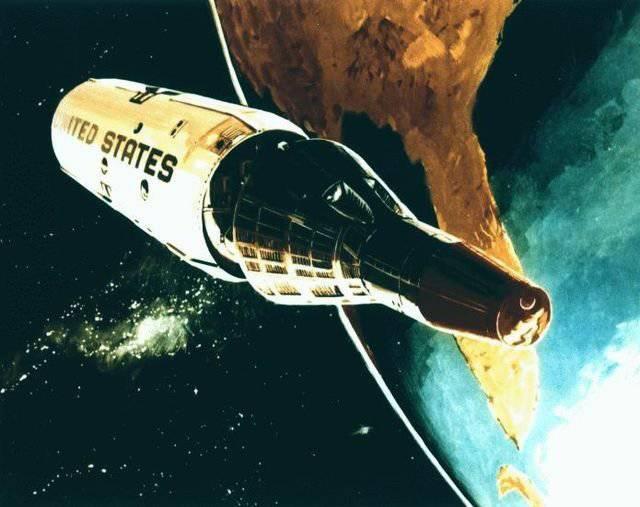 Star Wars: the Almaz and MOL orbital stations