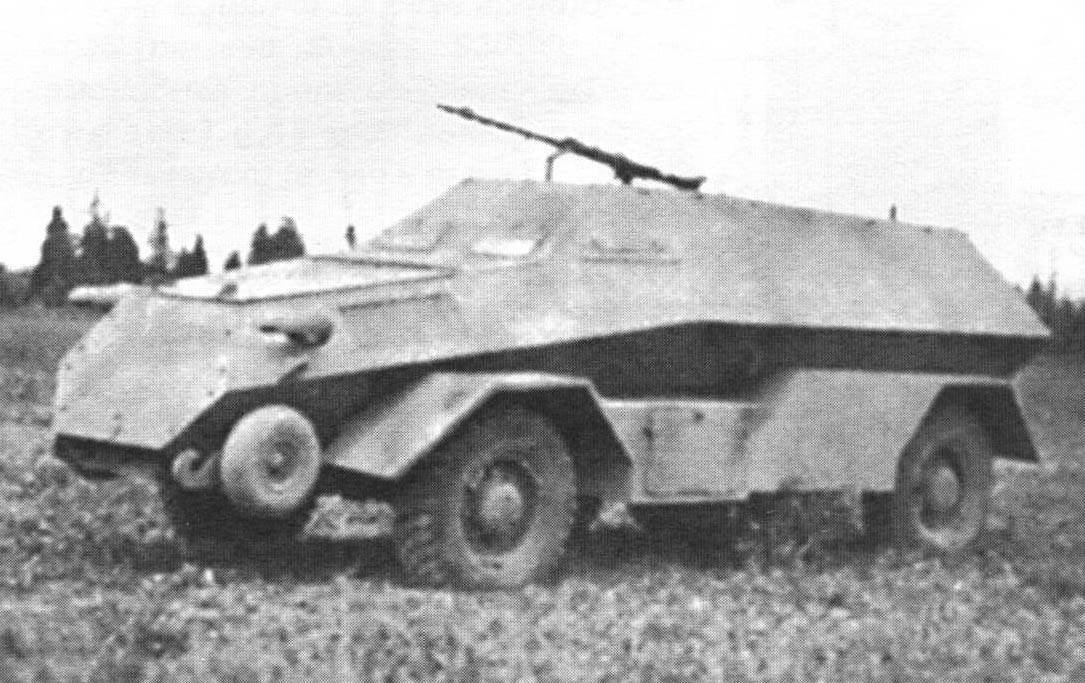 Trophy armored vehicles Wehrmacht. France