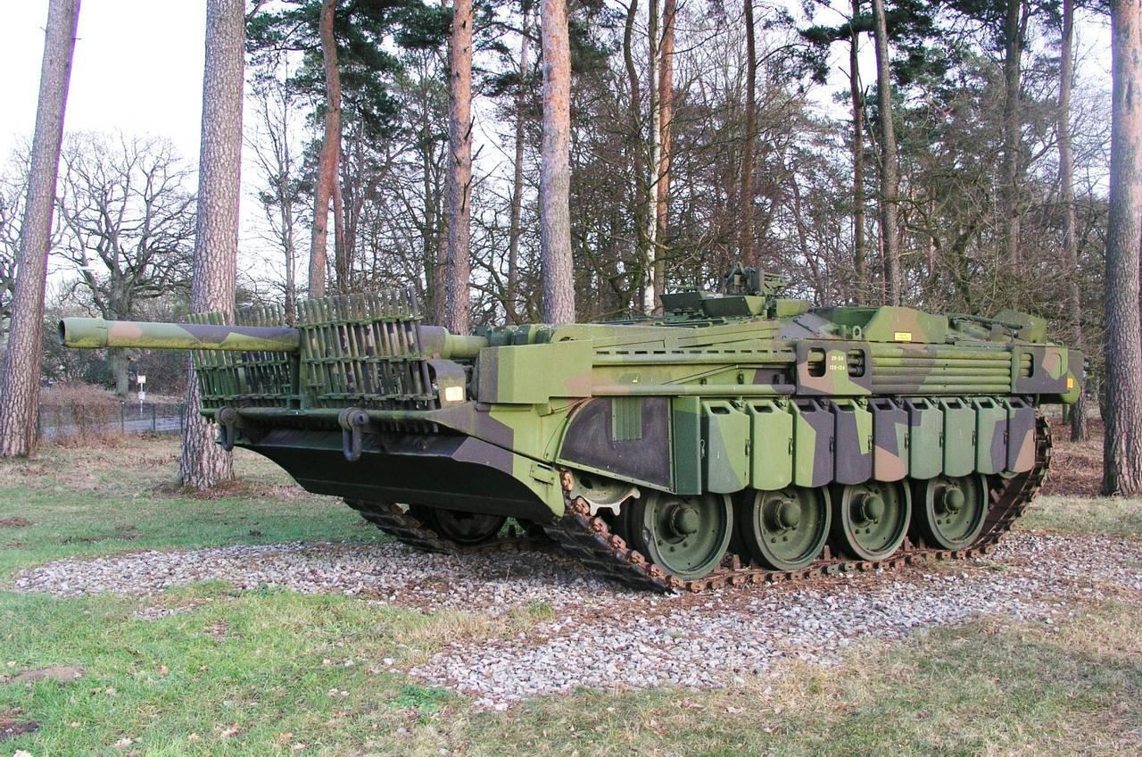 Шведский безбашенный танк strv103