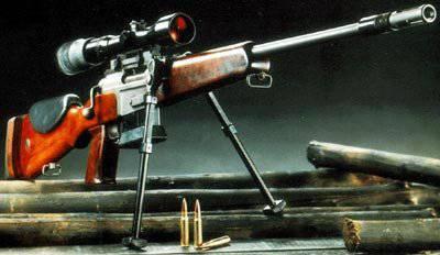 Fusiles francotiradores franceses FR F1 y FR F2