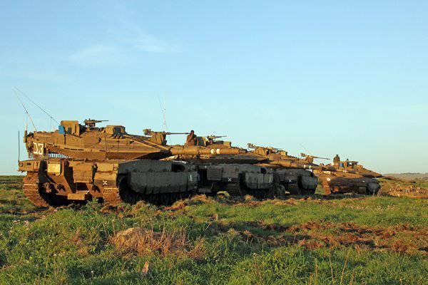 Neue Panzercomputer für die Merkava