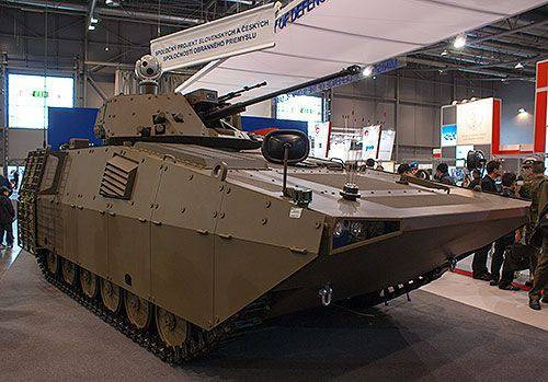 Modernisation slovaque de BMP-2