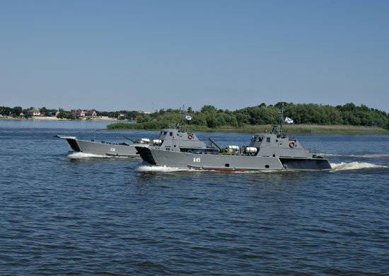 "In Nizhny Novgorod, state tests of a speedboat amphibious assault boat of the 11770 ""Serna"" project are completed"