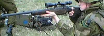 Norwegian sniper rifle NM149