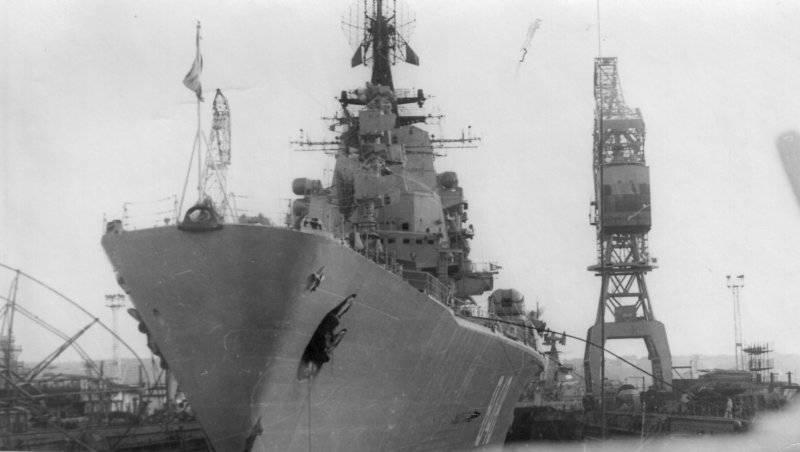 """Морские """"Кондоры"""": противолодочные крейсера-вертолетоносцы проекта 1123"""