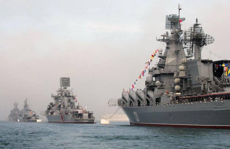 Черноморскому флоту России исполняется 230 лет