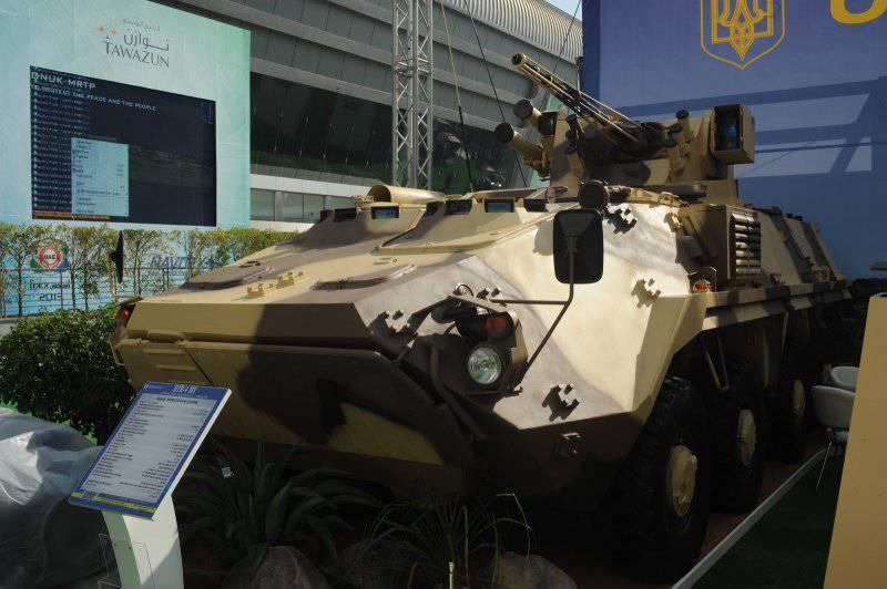 Новый бронетранспортер БТР-4МВ украинского производства принят на вооружение