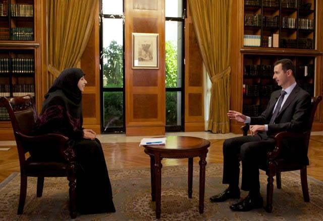 Bashar Al-Assad:勝利には絶対の自信があります(+大統領のインタビューの全文)
