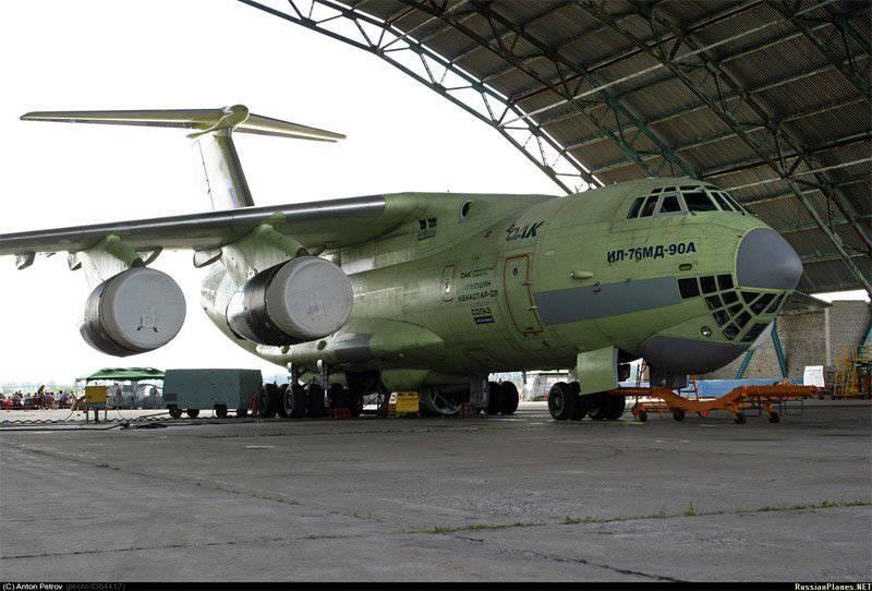 UAC recherche un pool de fournisseurs pour IL-76MD-90A