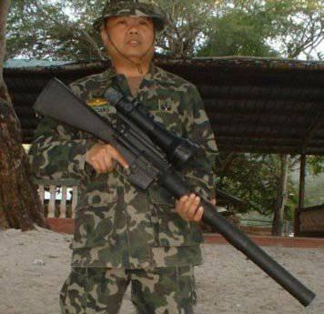 Sniper М16 de Filipinas