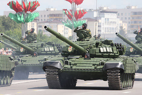Belarus entered the 20-ku largest sellers of weapons