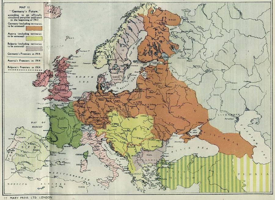 итог Первой мировой войны