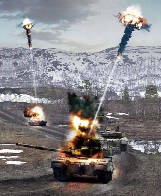Munitions de chars avancées MRM pour le tir hors de vue