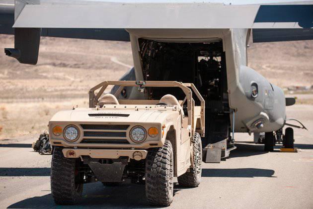 La société Boeing a présenté le SUV Phantom Badger