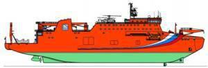 Projeto conceitual de embarcação de cabo desenvolvido